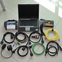 Najnowszy dla BMW MB Diagnosia Narzędzie ICOM A2 + B + C MB Star C4 2in1 1TB HDD Zainstalowany D630 Laptop SD Connect C5 V2017.09