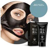 BIOAQUA Marque Soins du visage d'aspiration Masque Noir Masque facial Nez comédons Peeling Peel Off tête noire Traitements de l'acné 60g