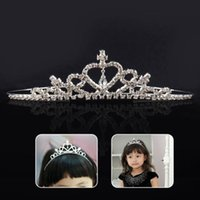 Girl Child Kids Christmas Gift Rhinestone Crystal Tiara Hair...