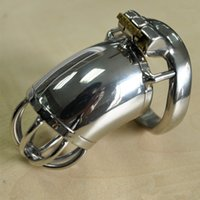 Wholesale - Hand- Polished Male Chastity Device Stainless Ste...