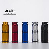 """N2O 가스 크래커 채찍 2.9 """"알루미늄 크래커 다채로운 크래커 크림 위퍼 흡연 6 색 미니 디스펜서 (141)"""