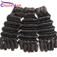 Full End Deep Loose Wave Brazilian Virgin Hair Weaves Unproc...