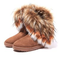 DHL Free hot sale women comfortable imitation fox fur winter...