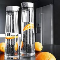 1L Su Şişeleri Serin Su Isıtıcısı Yüksek Sıcaklığa Dayanıklı Cam Sızdırmaz Meyve Suyu Şişesi Limonata Bidonlar Demlik Ev Pot ZA3514