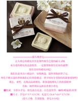 Favores y regalos de boda para invitados perfumados jabones decorativos hechos a mano Mini búho artículos de regalo creativo 100 unids / lote