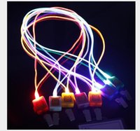 New Arrival LED Lanyard Novelty Lighting LED Optical Fiber L...