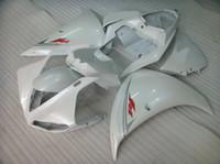 Kit de carenagem de molde de injeção para Yamaha YZF R1 09 10 11-14 carenagens brancas YZF R1 2009-2014 OY11