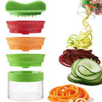3 In 1 Multifunction Vegetable Silicer 3 Blade Spiralizer Pe...