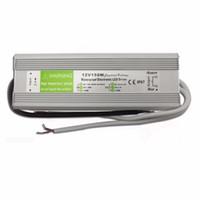 Ücretsiz Kargo 50 adet / grup 150 W Sıcak Satış AC90-250V DC12V Trafo IP67 Su Geçirmez LED Sürücü Güç Kaynağı