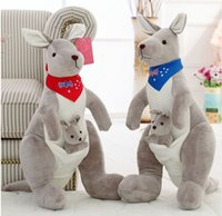35cm 50cm 70cm High Quality Cute Kangaroo Parenting Plush Do...