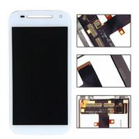 Di alta qualità per Motorola Moto E2 XT1505 XT1511 XT1527 Display LCD Touch Screen Digitizer Assembly di ricambio con trasporto libero del DHL
