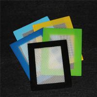 2016 Pad antiaderente in silicone Pad in silicone Tappetino in silicone antiaderente Tappetino in silicone Dab Mat Tampone con fibra di vetro