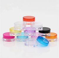 3 g 5 gThe quadrada caixa de creme caixa de embalagem de cosméticos é usado para amostra pequena praça de pequenas caixas de amostra Cosméticos Organizador FC502
