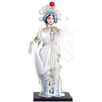 Fine regalo bambola bambola di seta Q versione opera Pechino dono regalo cinese posta vento straniero
