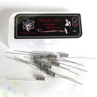 Prebuilt Notch Coil Demon Killer Notch Wire 316L SS 0.2ohm High quality Heating Wire fit DIY E Cigarette RDA RTA DHL Free