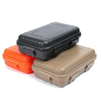 New Arrive S L Size Outdoor Plastic Waterproof Airtight Survival Case Container Camping Travel Storage Box Hot Sale