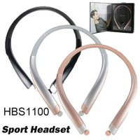 HBS1100 HBS- 1100 Bluetooth Wireless Headset CSR4. 1 High Qual...