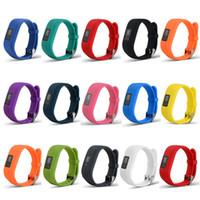 공장 가격 Garmin Vivofit3 Vivofit 3 Smart Watch를위한 새로운 부드러운 실리콘 교체 손목 시계 밴드 스트랩