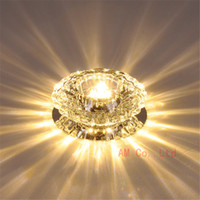 Modern Crystal LED Ceiling Light Pendant Lamp Fixture Home L...
