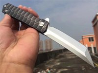 Bearing Promoção 2 Estilo C81 C149 C41 C10 faca dobrável Bola D2 Lâmina 58-60HRC presente Black Steel caixa preta ferramenta EDC punho de aço inoxidável