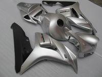 100% fit for HONDA fairings CBR1000RR 06 07 silver black injection mold fairing kit CBR1000RR 2006 2007 OT34