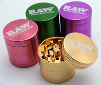 RAW Grinders Aluminum Smoking Grinders for Tobacco 53mm Tall...