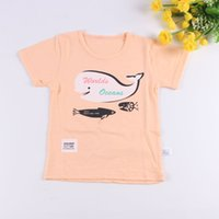 Baby T Shirt 2017 Summer Fashion Baby Boy Girl Clothe swhale...