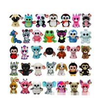 Beanie Boos Big Eyes Small Unicorn Plush Toy Doll Kawaii Stu...