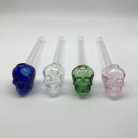 Glass Oil Burner Pipes For Smoking 5. 5 Inches Colorful Pyrex...