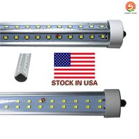 8 piedi led tubo singolo fa8 72W a forma di V e Dural row Doppi lati 2835 Led Light Tube 8ft led AC85-265V UL DLC