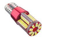 50PCS 12V 24V T10 LED لمبة 3014 57smd في canbus سيارة بدوره إشارة الذيل النسخ الاحتياطي ضوء اللمبة
