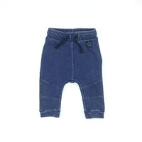 Baby Boy Girl Jeans Long Pants Solid Denim Fashion Design Br...