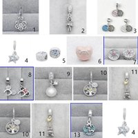 30 pcs lot Authentic 925 Sterling Silver HOT SALES charms be...