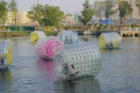 Zorb كرة كرة ماء كرة ماء يمشي كرة pvc ماء رياضة حرّرت سفينة ب Fedex