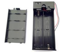 1.5V X4 D صناديق البطارية D حامل البطارية المغلقة مربع مع التبديل 6V أدوات صناديق البطارية