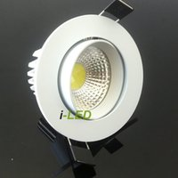 New Arrvial led recessed ceiling lights 10w CREE cob dimmabl...