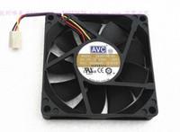 AVC 8015 8CM DS08015B12H 12V 0.50A double boule 3 fils grand ventilateur de refroidissement