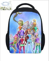 Hot Sale 10 Style Winx Club Backpack Girls Mochila Escolar C...