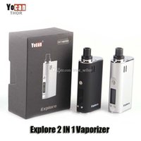 100% Original Yocan Explore 2 IN 1 Vaporizer Kits 2600mAh Ba...