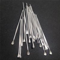 Ego Evod Wax Dabb Atomizer Cig Acero inoxidable Titanio Nail Dabber Tool Dry Herb Vaporizer Pen Pen Dabber Tool Facotry Precio