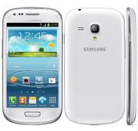 100% Original Samsung I8190 Galaxy SIII S3 mini GPS 3G WIFI 5MP Touch Android teléfono celular reacondicionado