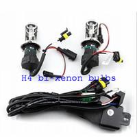 12V 35W H4 BI-Xenon HID Xenon Lampor 6000K HID Lampor för billjuslampa med trådljus