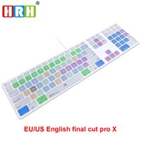 HRH Final Cut Pro X Hotkeys Keyboard Cover Skin For Apple Ke...