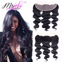 Peruvian Virgin Human Hair 13x4 Lace Frontal Ear To Ear Clos...