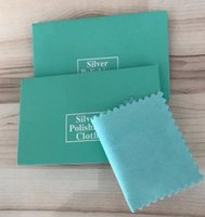 Epackfree 100 unids pulimento de plata 10x7 cm limpieza paquete de paño de pulido paño de limpieza de plata paño de limpieza joyería de plata mantenimiento de gamuza