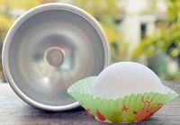DHL Hızlı 3D Alüminyum Alaşım Topu Küre Banyo Bomba Kalıp Kek Pişirme Pasta Kalıp 300 adet Nakliye