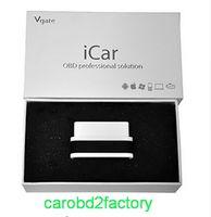 10 sztuk / partia --- wysokiej jakości VGate ICAR2 WIFI ELM327 OBD2 Interface dla iOS iPhone android