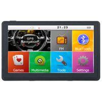 XINMY Schermo capacitivo da 7 pollici Navigatore GPS NAV Navigatore GPS Bluetooth Trasmettitore AVIN FM RAM256MB Mappe da 8 GB gratis per veicolo camion