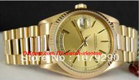 Top Quality Luxury Watches 118238 18238 Yellow Dial Stainles...
