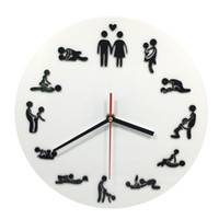 Wholesale- Free Shipping 1Piece Kama Sutra Sex Position Clock...